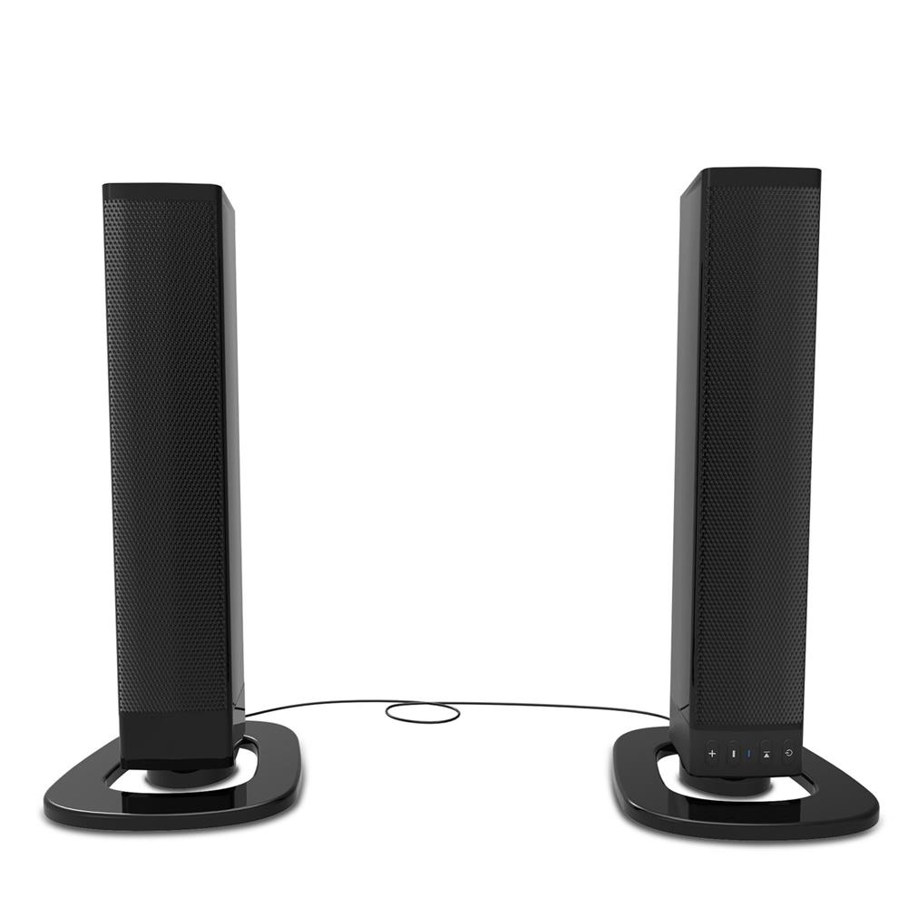 computer-speakers Smalody YXSM8070BT Computer Speaker Detachable 2.0 bluetooth Speaker Portable Wireless Speaker U Disk Audio input 3.5mm/0.14'' And RCA Audio input Black HOB1734261 1