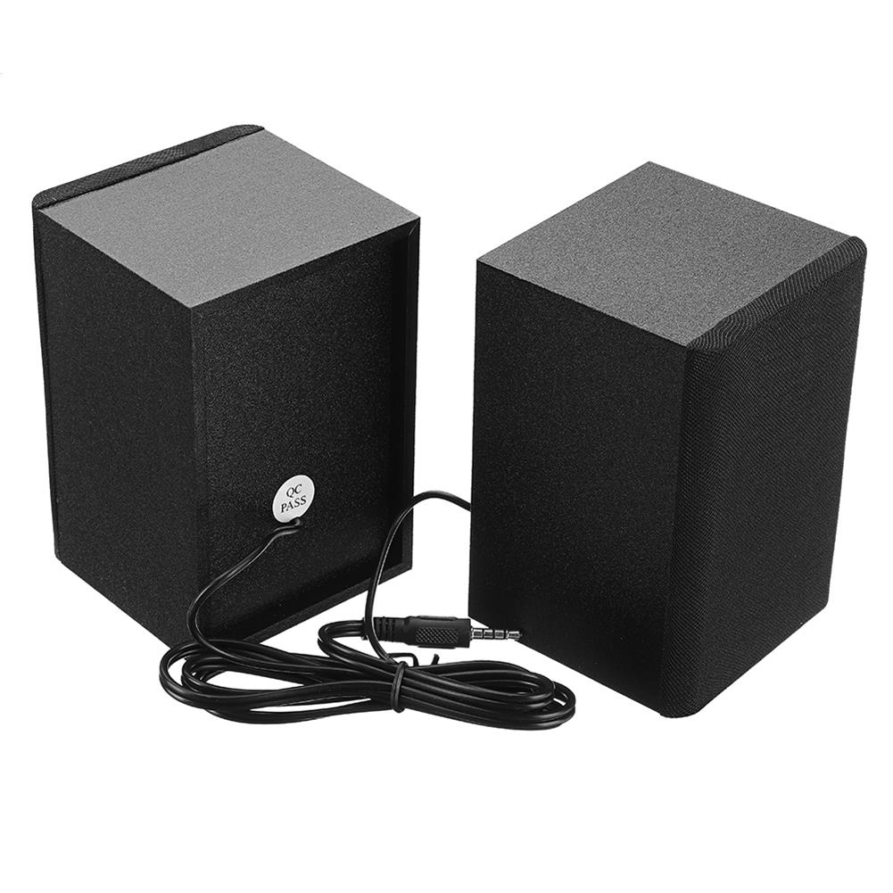 computer-speakers SADA D-200T Home Laptop Audio Multimedia Mini Speaker USB AUX Audio 2.1 Subwoofer bluetooth5.0 Wired 3.5mm Wood Black HOB1734800 3 1