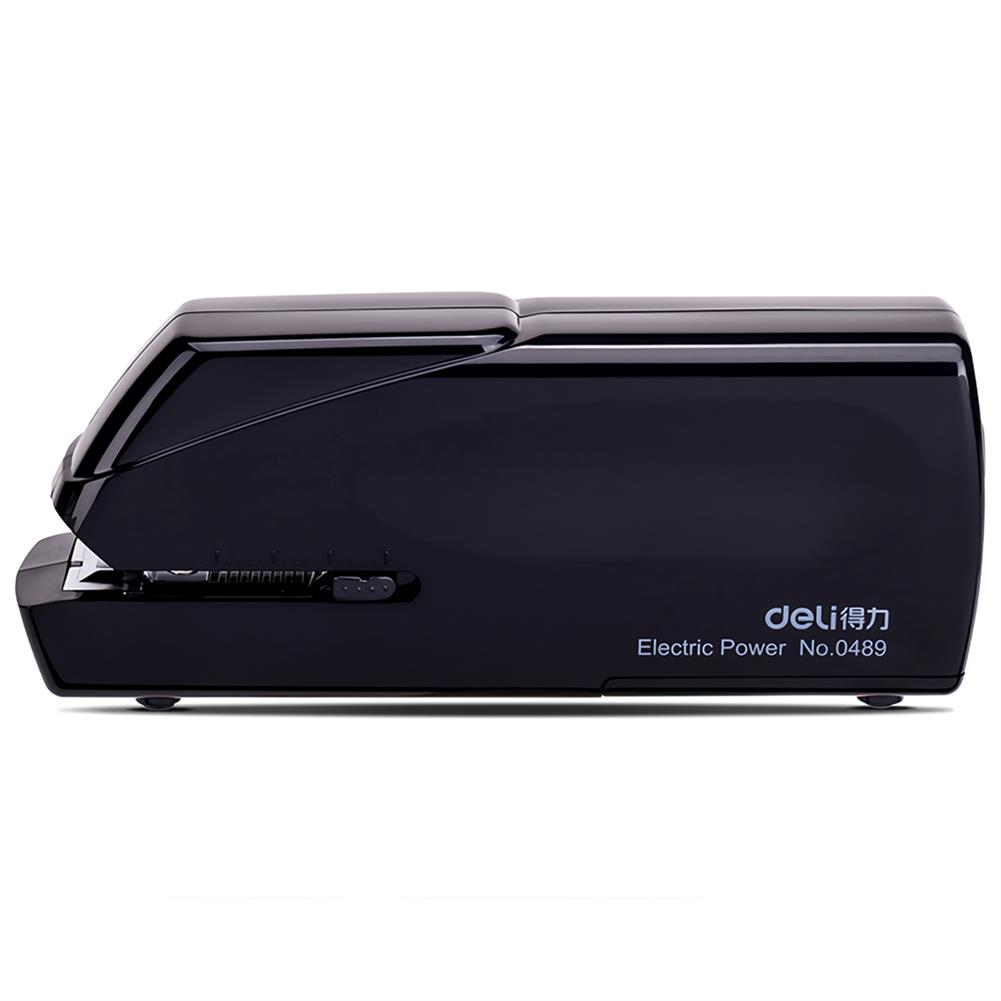 binding-machine Deli 0489 Electric Stapler Double Power Supply Automatic Heavy Duty Book Binding Machine 20 Sheet office Normal Supplies Stationery Geometric office Stapler HOB1735276 1 1