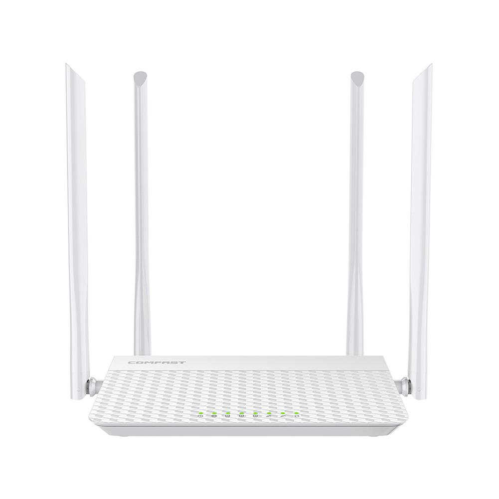 routers COMFAST CF-N3 V3 Wireless WiFi Router Mobile Router 4Port 1200Mbps Wireless Signal Booster Gigabit Ethernet Port for Home House Use HOB1735530 1
