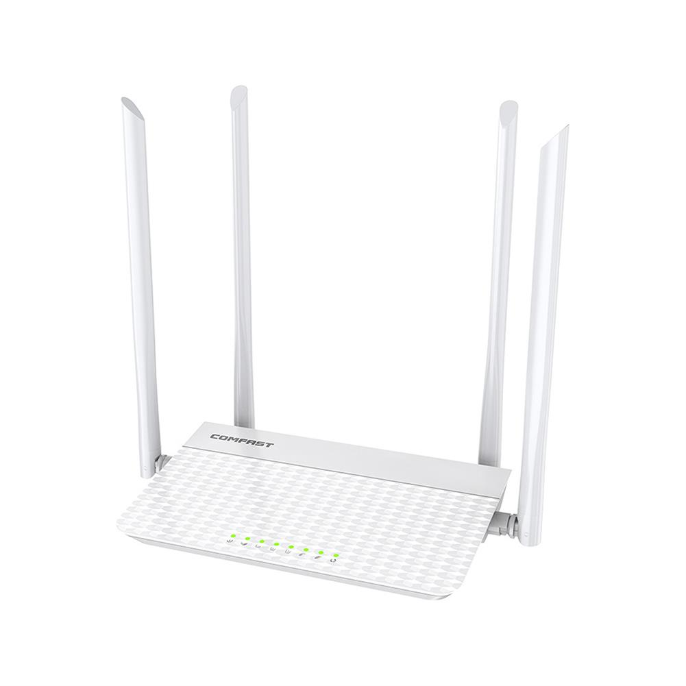 routers COMFAST CF-N3 V3 Wireless WiFi Router Mobile Router 4Port 1200Mbps Wireless Signal Booster Gigabit Ethernet Port for Home House Use HOB1735530 1 1