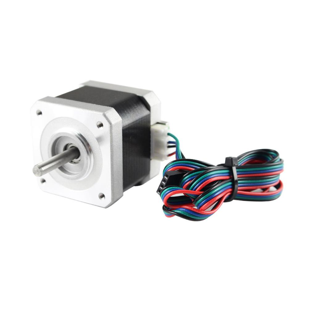 3d-printer-accessories Nema17 40MM Stepper Motor 17HS4401 42BYGH 1.5A with Cable for 3D Printer HOB1735602 1