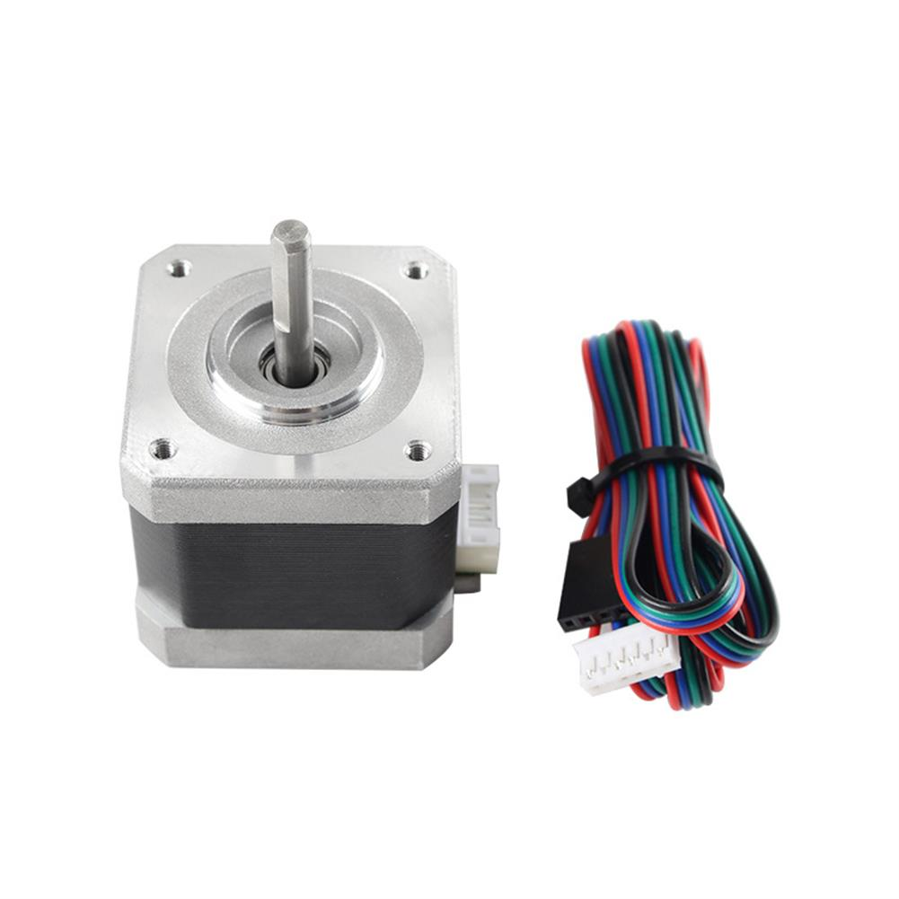 3d-printer-accessories Nema17 40MM Stepper Motor 17HS4401 42BYGH 1.5A with Cable for 3D Printer HOB1735602 3 1