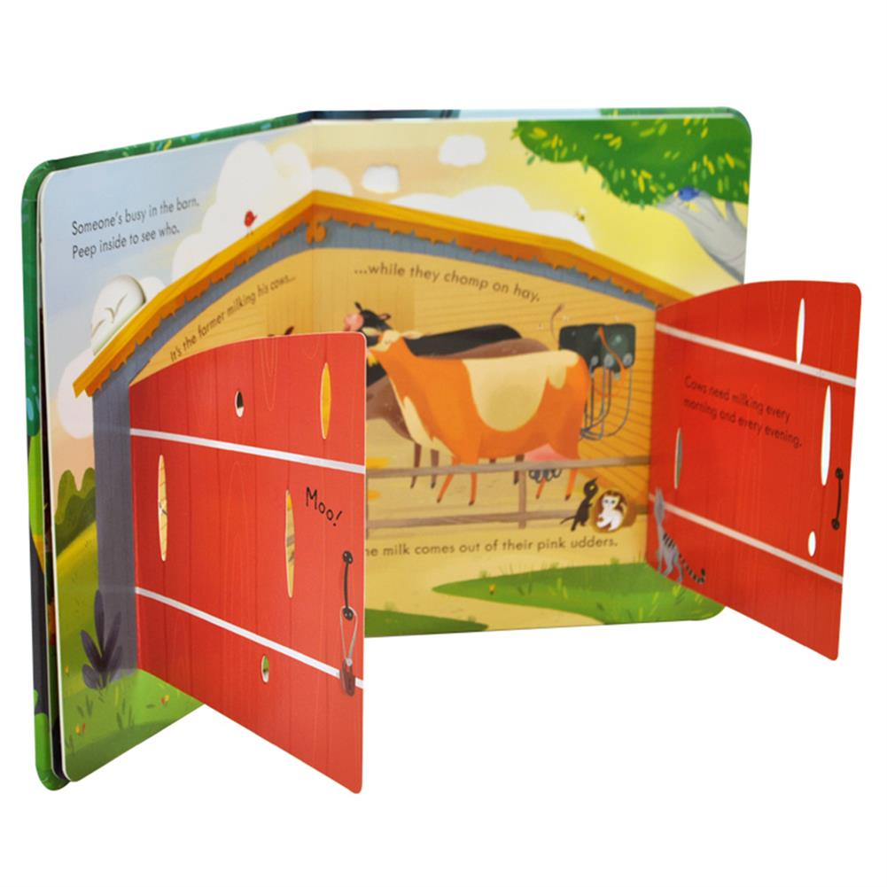 other-learning-office-supplies 6 Books/set English Painting Book Educational 3D Flap Picture Books Baby Children Reading Book for Children Gifts HOB1735778 3 1