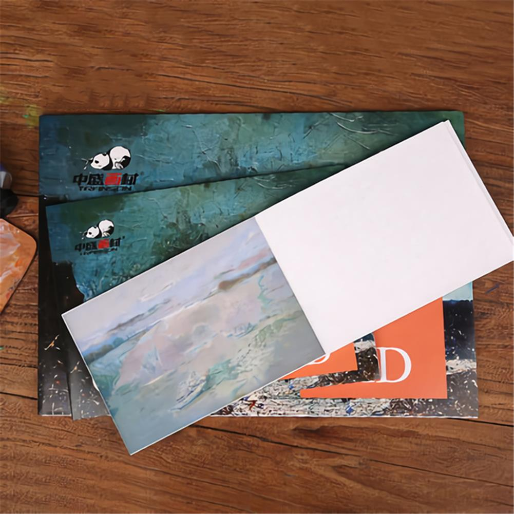 paper-notebooks 280g/m2 Watercolor Oil Painting Book A5/A4/A3 10 Sheet Drawing Water Color Paper Art Supplies Stationery for Painting Beginner HOB1736304 2 1