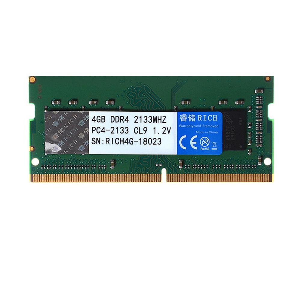 rams RuiChu DDR4 2400MHz 4GB RAM 2133MHz Memory Ram 1.2V 240pin Memory Stick Memory Card for Laptop Notebook HOB1736307 1 1