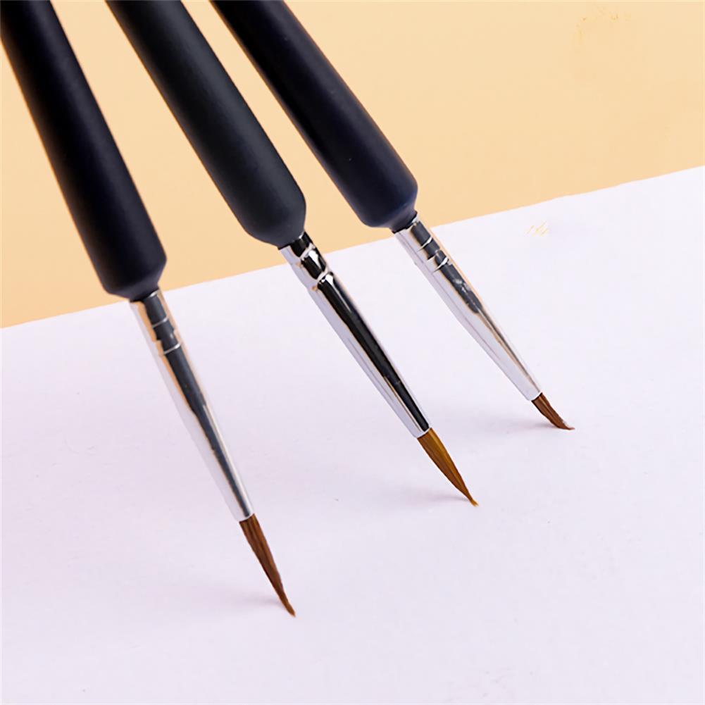 brush 10pcs/set Hook Line Pen Paint Brushes Watercolor Brushes Hair Pen Gouache Acrylic Oil Painting for Painting Beginner Supplies HOB1736611 2 1
