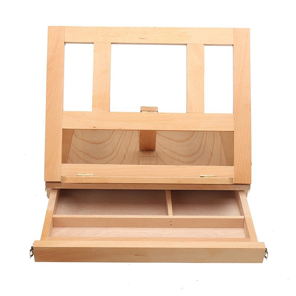 artboard-easel Wooden Drawing Board Easel Desktop Multifunctional Art Painting Table Desk Painting Easel HOB1736635 1 1