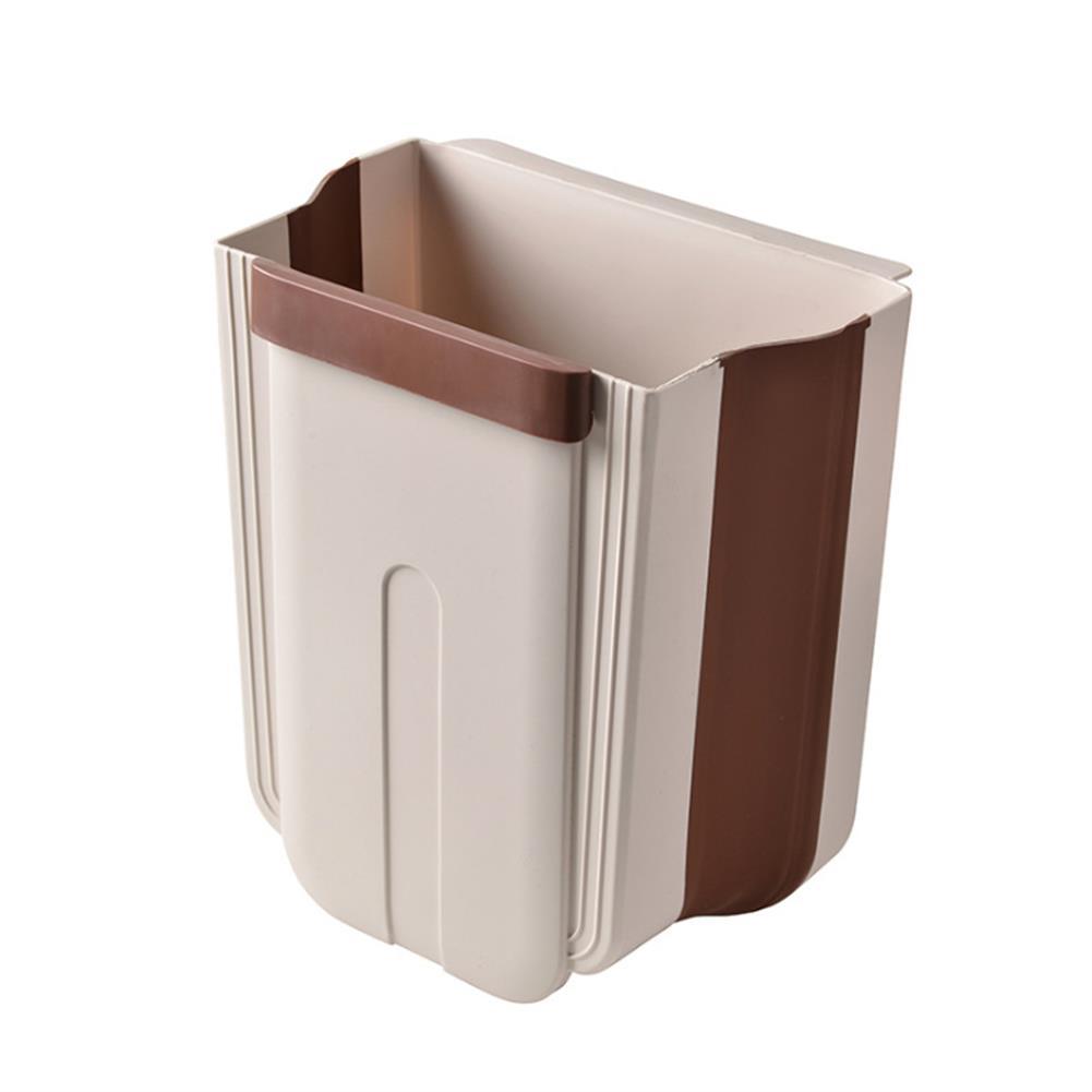 desktop-off-surface-shelves Kitchen Cabinet Door Hanging Trash Portable Garbage Bin Container Waste Bins Cupboard Bathroom Hanging Holders Trash HOB1737412 1 1