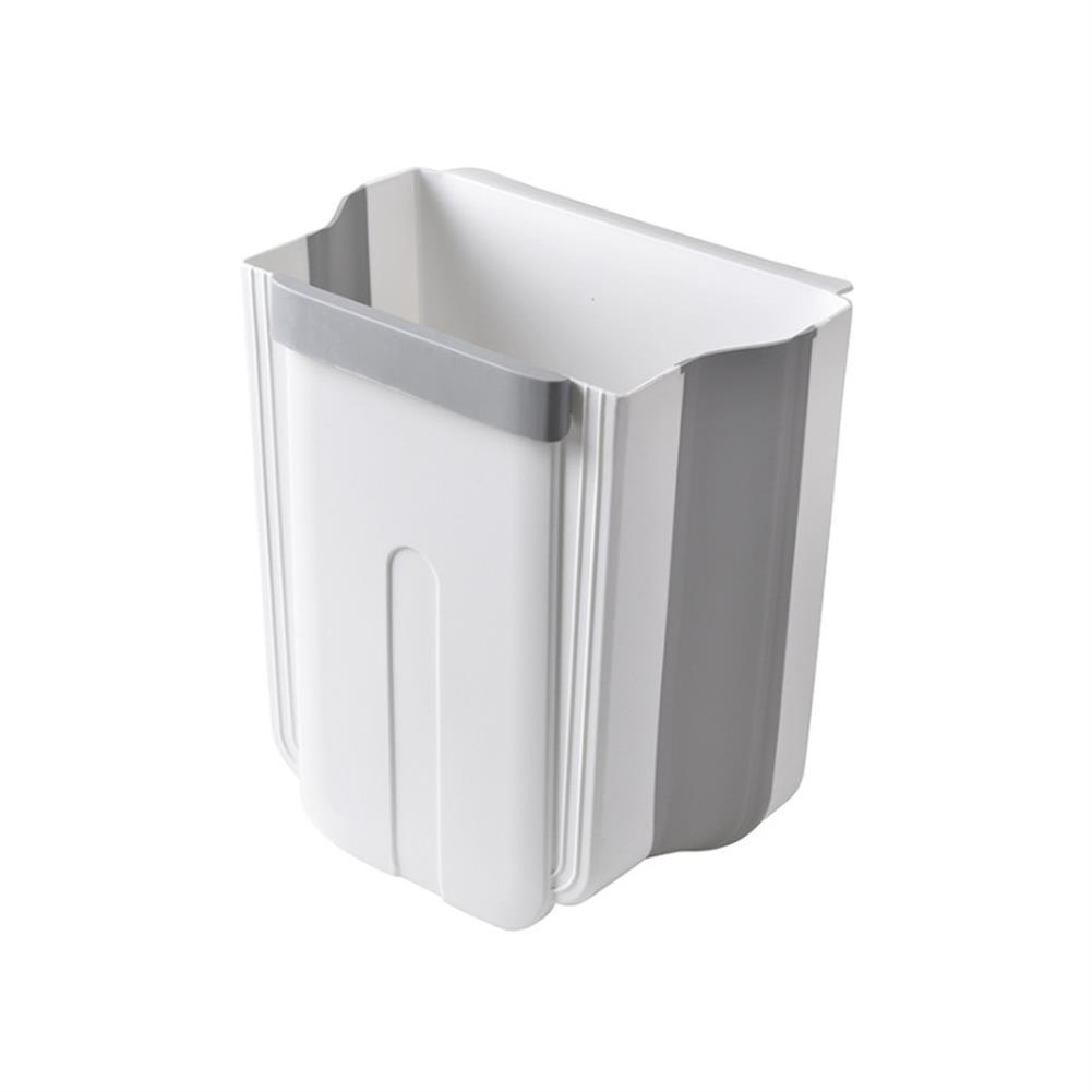 desktop-off-surface-shelves Kitchen Cabinet Door Hanging Trash Portable Garbage Bin Container Waste Bins Cupboard Bathroom Hanging Holders Trash HOB1737412 2 1