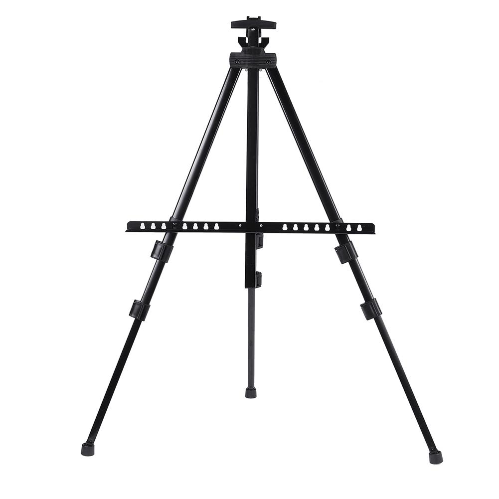 artboard-easel Telescopic Tripod Easel Portable Height Adjustable Metal Sketch Easel Stand Foldable Travel Easel Aluminum Alloy Easel Sketch Drawing for Artist Art Supplies HOB1737553 1