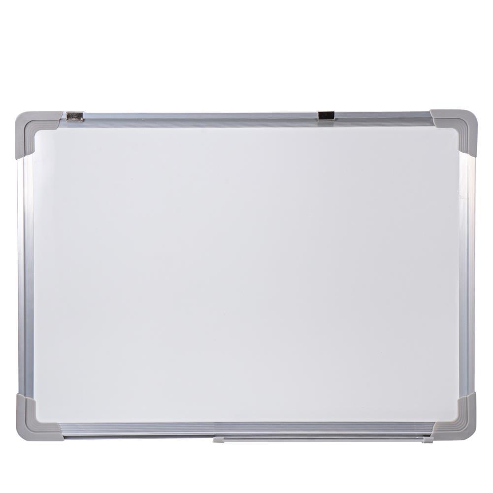 white-wipe-board Magnetic Whiteboard Hanging Erase Message Board Double Side Magnet Board Whiteboard Bulletin Drawing Pad for School office HOB1737565 1 1