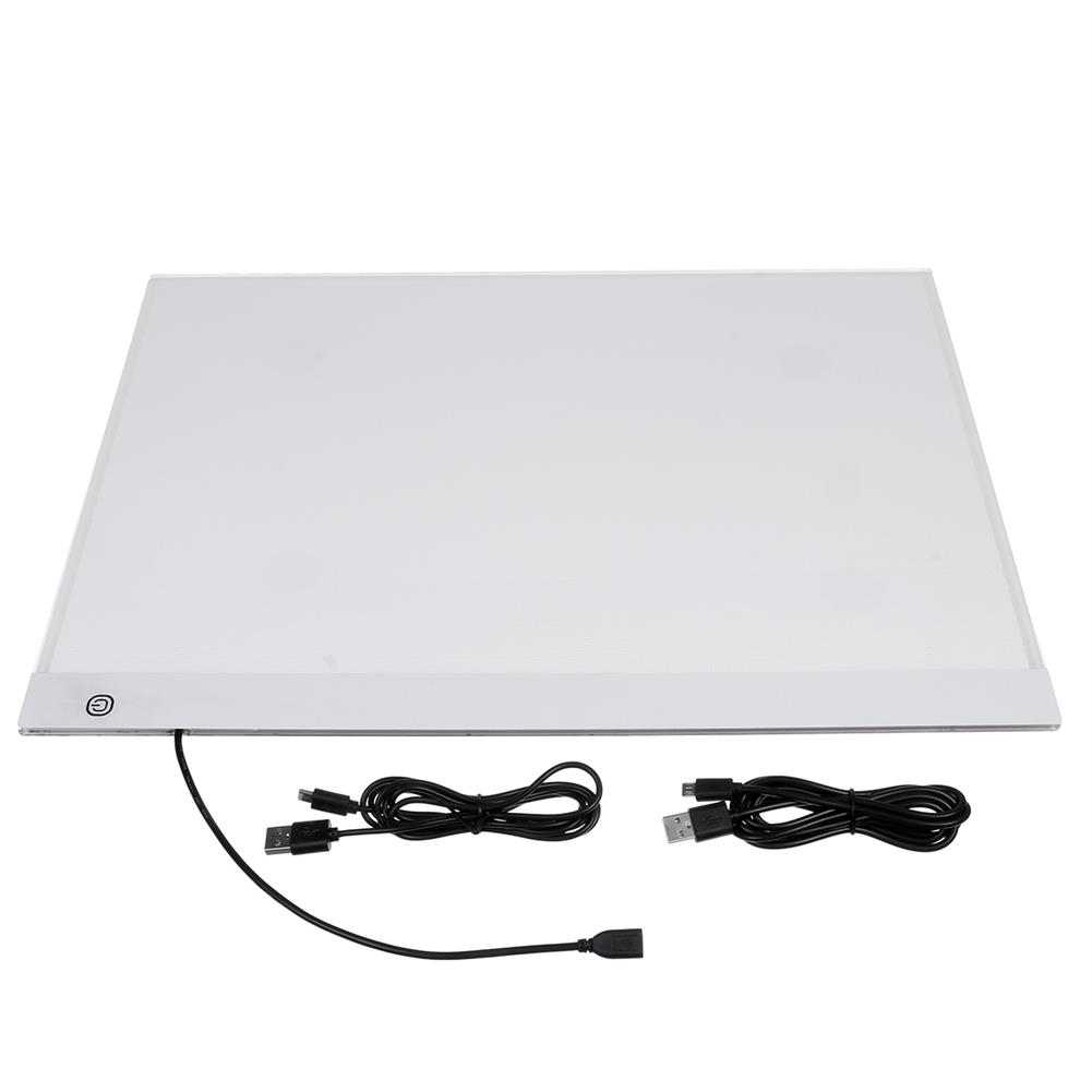 graphics-tablets A3 LED Drawing Digital Graphics Tablet Ultra Thin USB LED Light Pad Copy Board Electronic Art Painting Writing Tablet HOB1737593 1