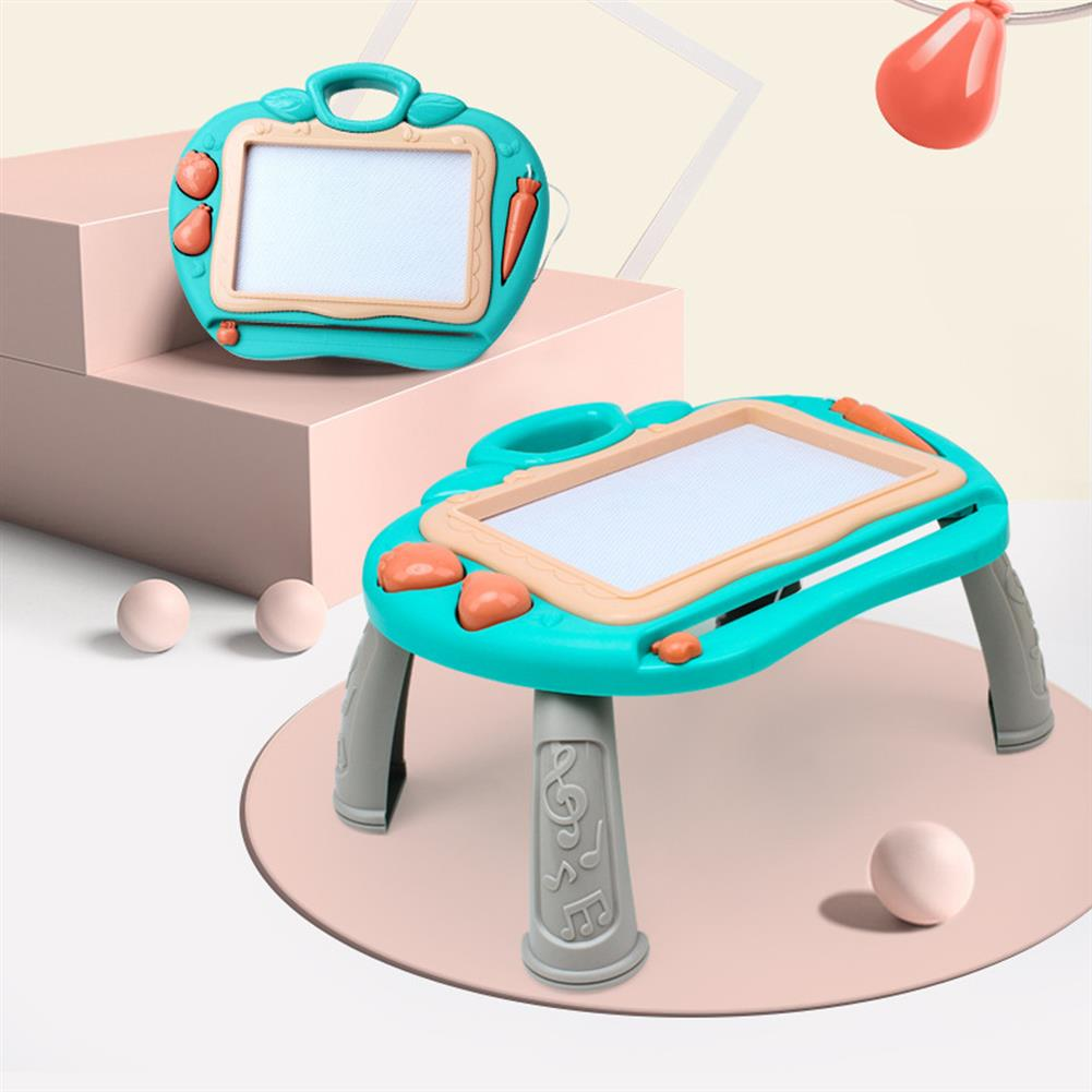 desktop-off-surface-shelves Magnetic Drawing Board Color Sketch Pad Kids Multi-functional Writing Table Graffiti Painting Toys for Children Gifts HOB1739356 2 1