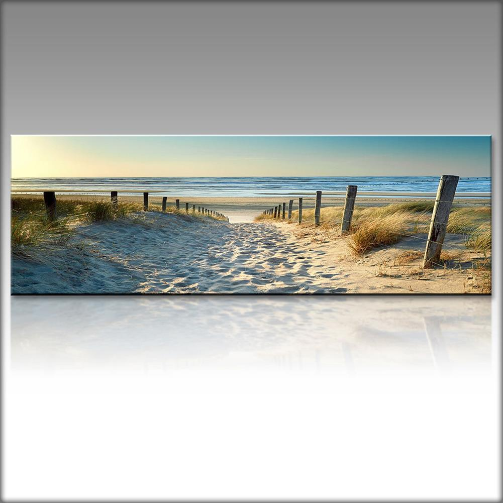 other-learning-office-supplies 1 Piece Canvas Print Paintings Beach Sea Road Wall Decorative Print Art Pictures FramelessWall Hanging Decorations for Home office HOB1739415 1