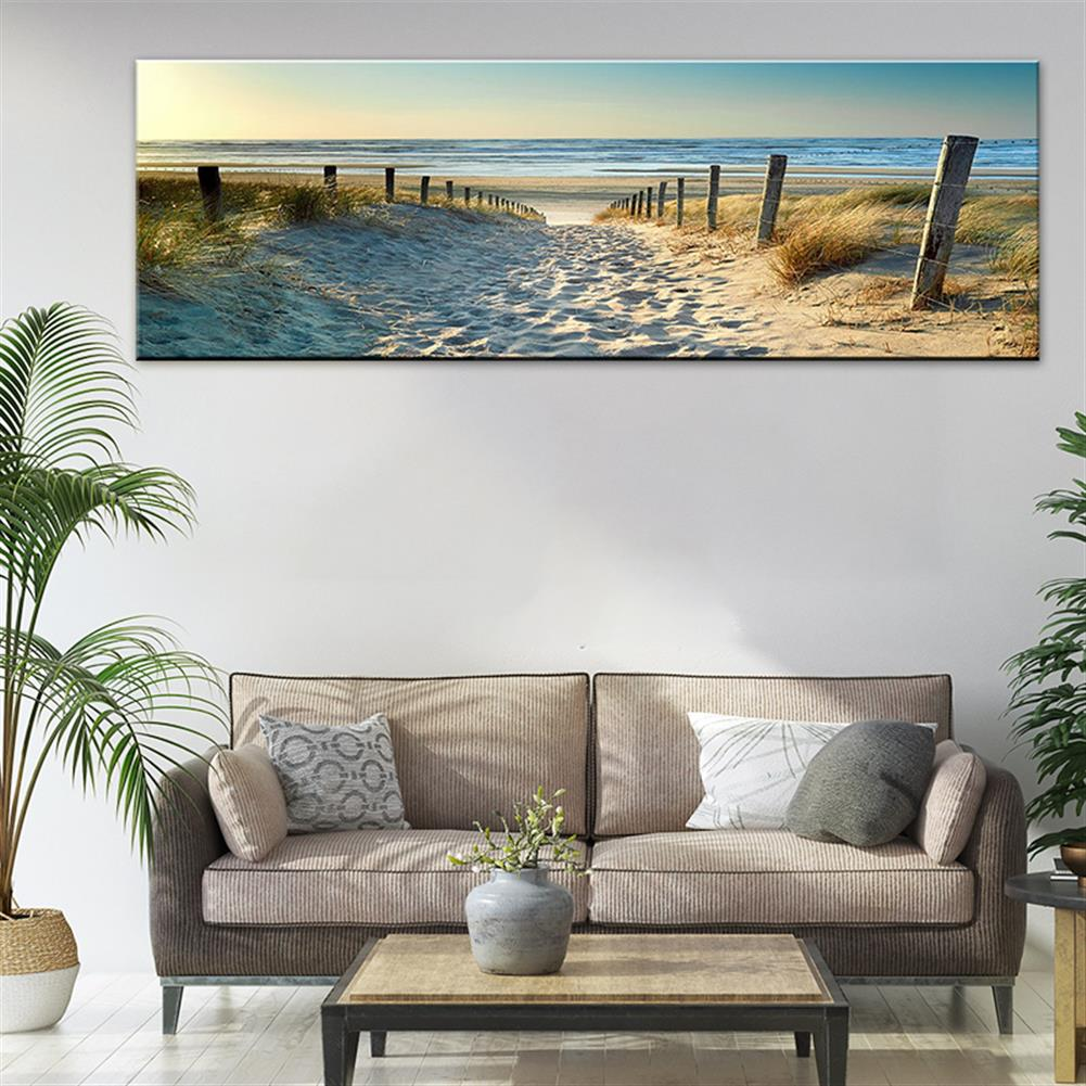 other-learning-office-supplies 1 Piece Canvas Print Paintings Beach Sea Road Wall Decorative Print Art Pictures FramelessWall Hanging Decorations for Home office HOB1739415 2 1