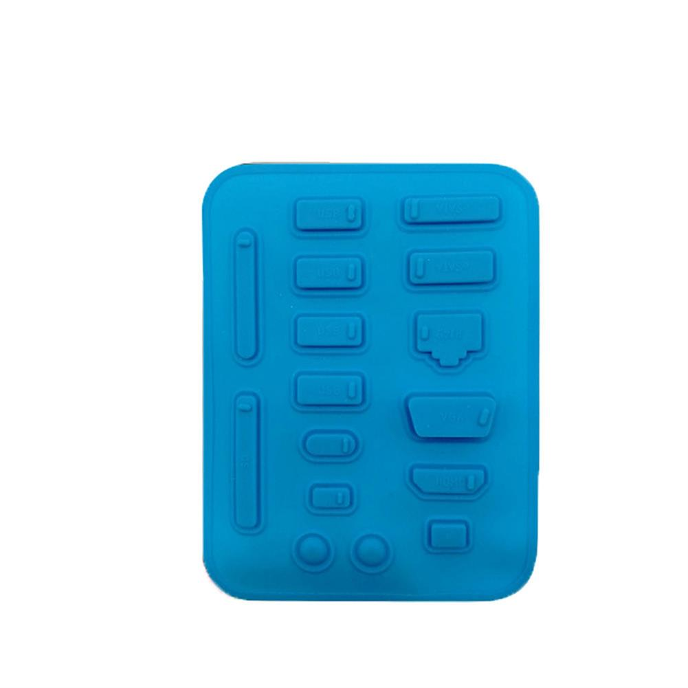 other-accessories HRHPYM 16pcs Dust Plug Suit Silica Gel USB Port Universal Dust Plug Type-C for Notebook Laptop HOB1739739 1 1