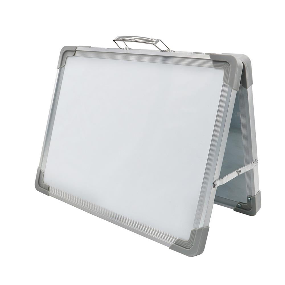 white-wipe-board Mini White Wipe Board Double Sided Whiteboard Planner Reminder with Stand School Home office Kid Drawing Board Supplies HOB1740175 1 1