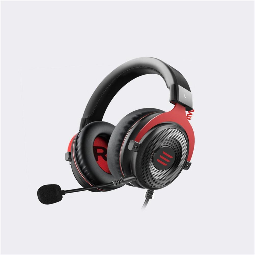 headphones EKSA E900/E900 Pro Wired Gaming Headphone Virtual 7.1 Surround Sound Headset Led USB/3.5mm Wired Headphone with Mic Volume Control for Xbox PC Gamer HOB1740251 1 1