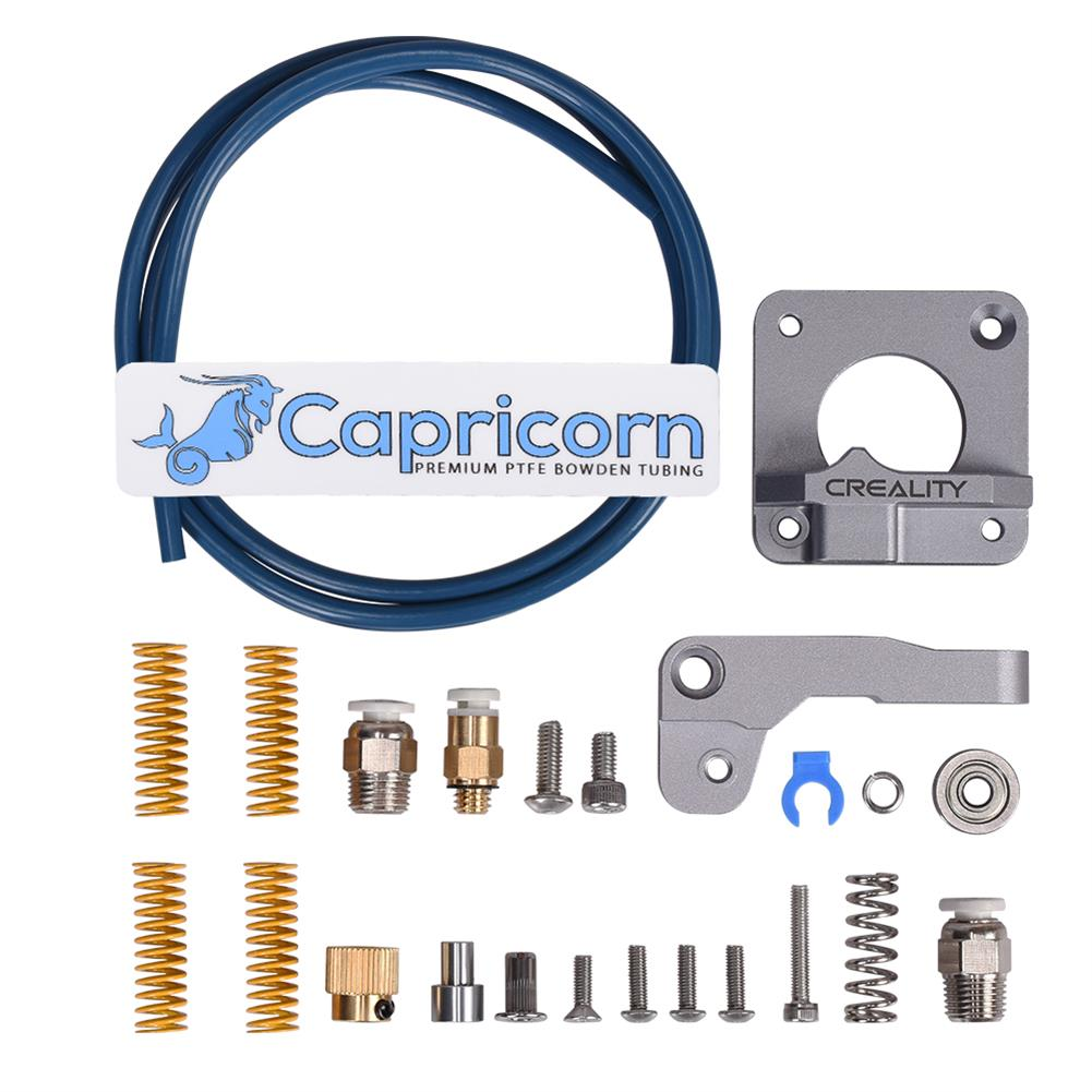 3d-printer-accessories BIGTREETECH Aluminum Alloy Bowden Extruder with Capricorn PTFE Tube Kit for 1.75MM Filament Ender-3/PRO CR10 3D Printer HOB1740283 1