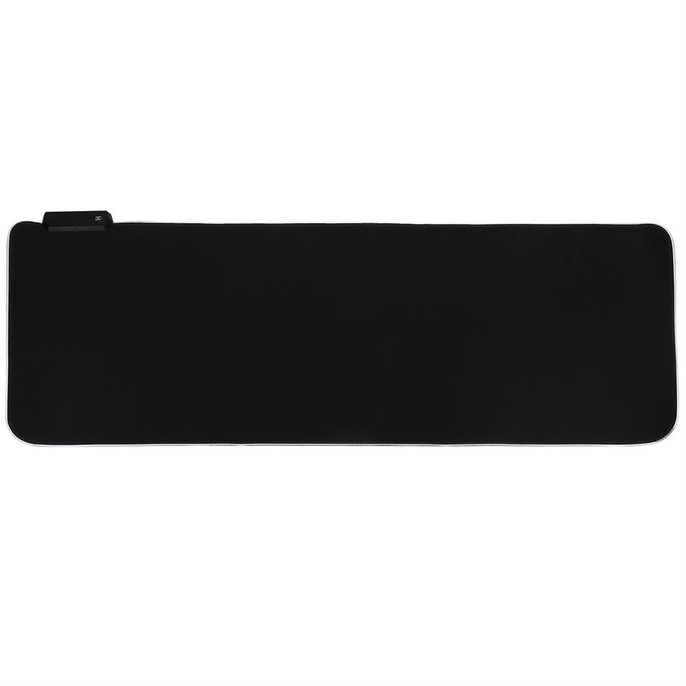 mouse-pads-keyboards-mouse RGB Mouse Pad Anti-slip Rubber Soft Cloth Desktop Mouse Keyboard Mat for Home Gaming office Work HOB1740447 1