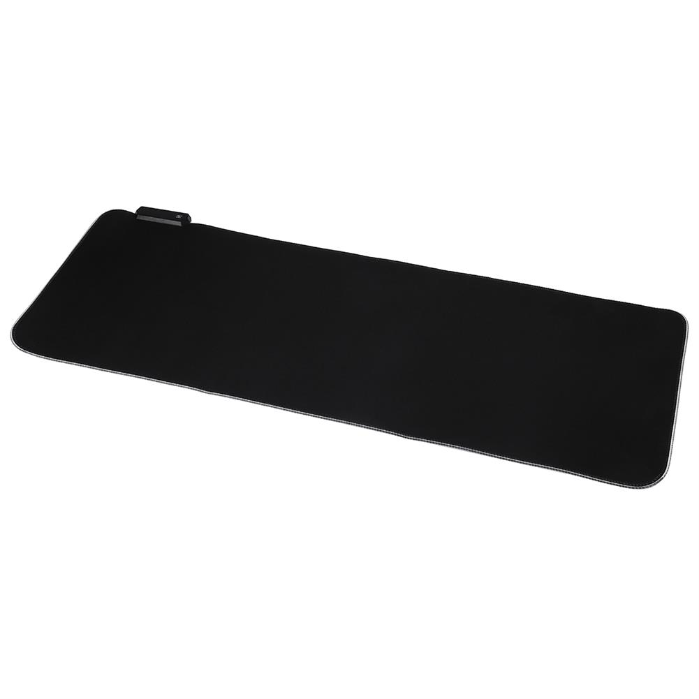 mouse-pads-keyboards-mouse RGB Mouse Pad Anti-slip Rubber Soft Cloth Desktop Mouse Keyboard Mat for Home Gaming office Work HOB1740447 1 1