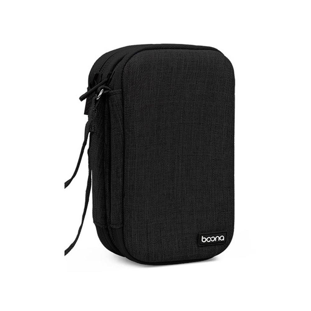 hard-drives-accessories Baona Double Layer Mobile Hard Disk Storage Bag Waterproof EVA Hard Shell Protective Sleeve for 2.5 inch SSD HDD Hard Disk HOB1740469 1