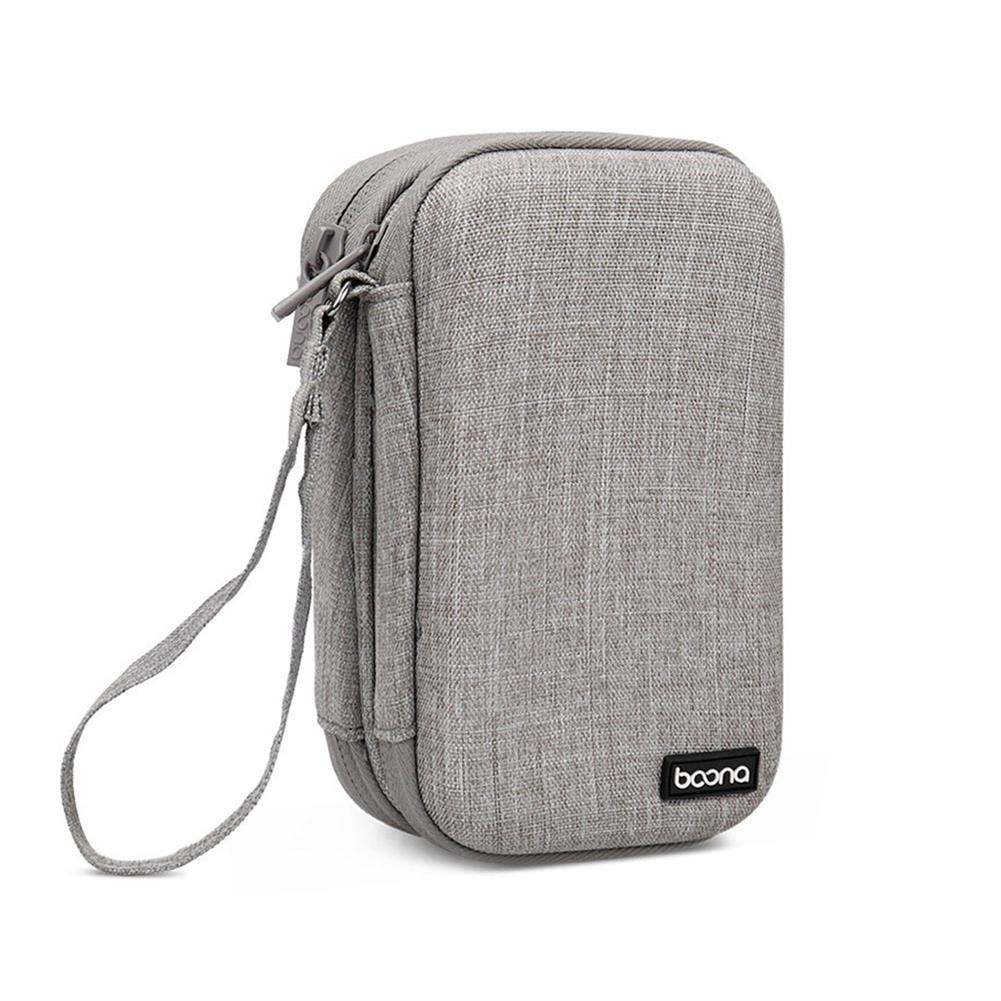 hard-drives-accessories Baona Double Layer Mobile Hard Disk Storage Bag Waterproof EVA Hard Shell Protective Sleeve for 2.5 inch SSD HDD Hard Disk HOB1740469 1 1