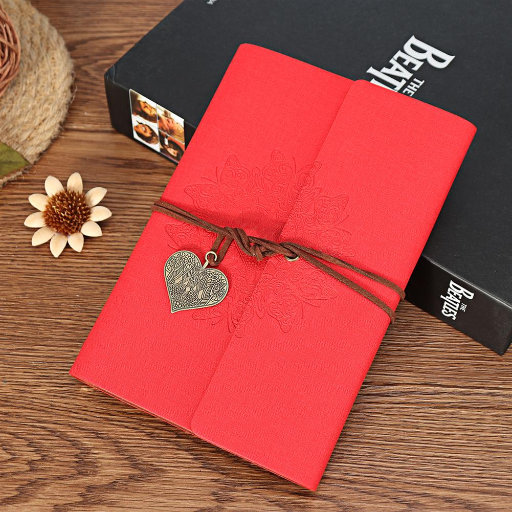paper-notebooks 80 Sheets Creative Notebook Business Travel Notebook Retro PU Leather Notebook Stationery office Writing Supplies HOB1740841 3 1