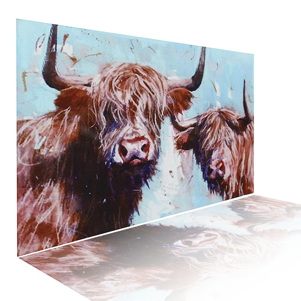 art-kit 1 Piece Highland Cow Canvas Print Painting Wall Decorative Print Art Pictures Frameless Wall Hanging Decorations for Home office HOB1741179 1 1