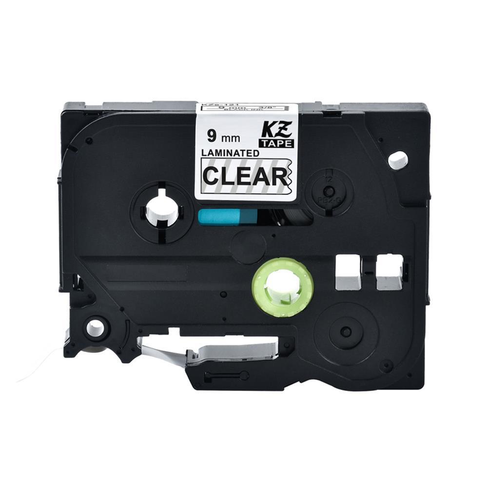 labels 9mm 12mm Printer Label Tape for Brother PT-E100B/300BT/D210 Printer HOB1741654 1