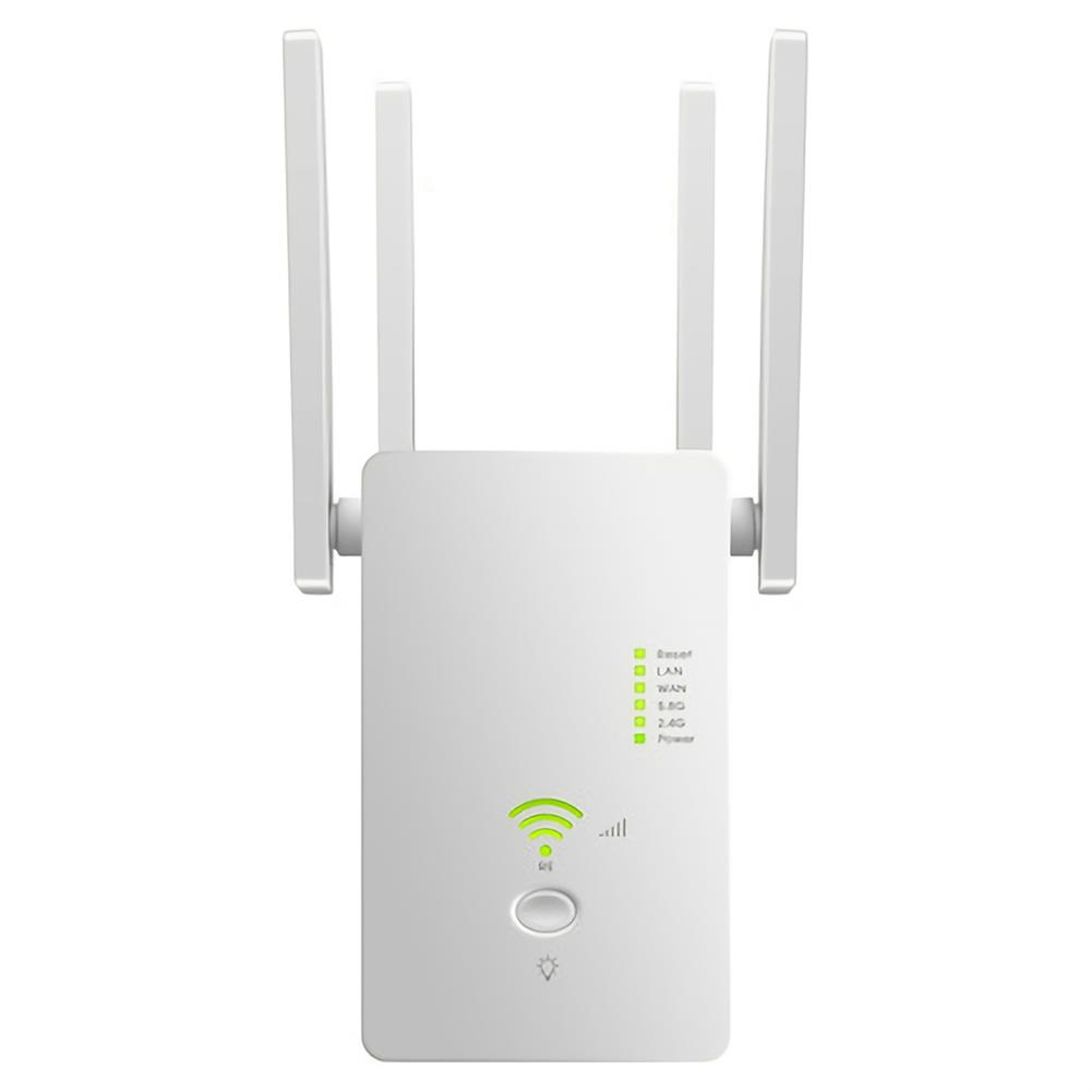 repeaters 1200M Dual Band Wireless AP Repeater 2.4GHz 5.8GHz Router Range Extender WiFi Amplifier Signal Extend WiFi Booster HOB1742459 1