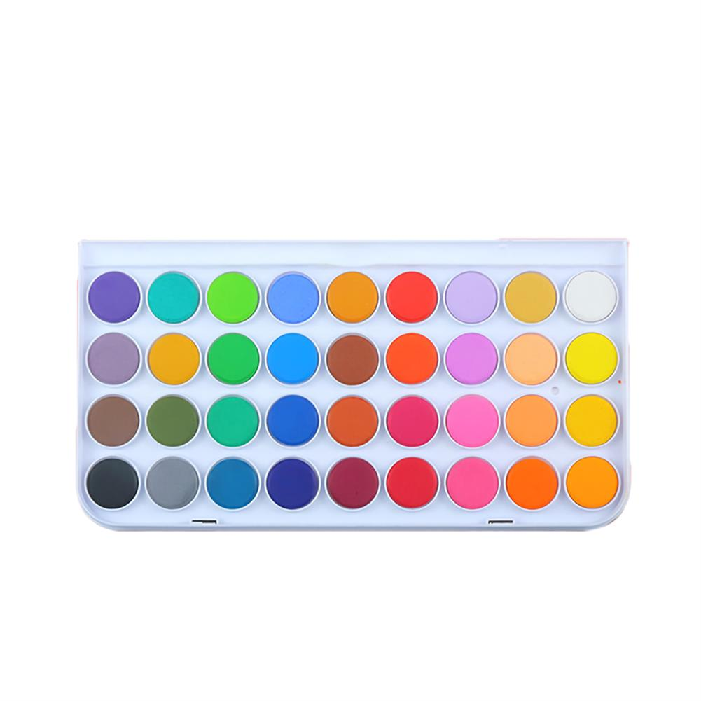 watercolor-paints Memory 16/36/48 Colors Watercolor Paint Set Painting Drawing Portable Solid Watercolor Art Paint for Kids Gift Supplies Stationery HOB1742563 1 1