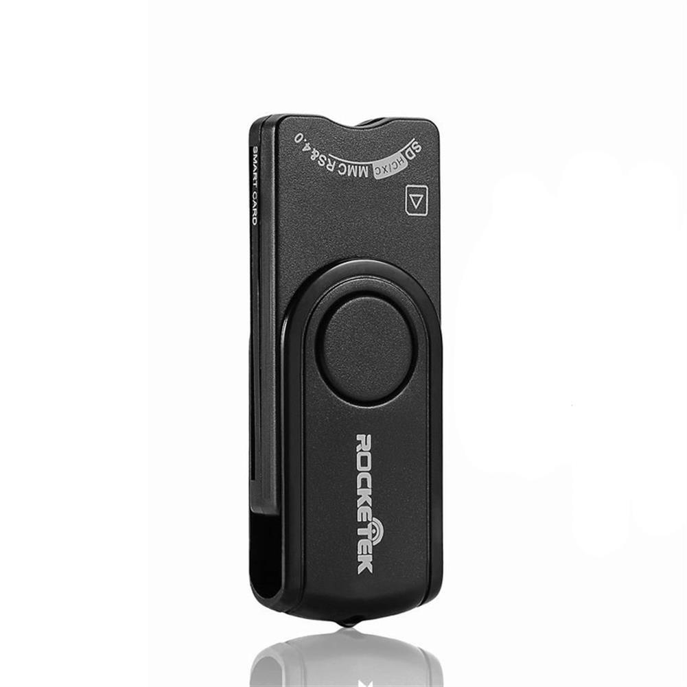 card-readers Rocketek USB2.0 Card Reader SD TF Memory Card ID Bank EMV 4 in 1 Smart Card Reader 4 in 1 HOB1743938 1