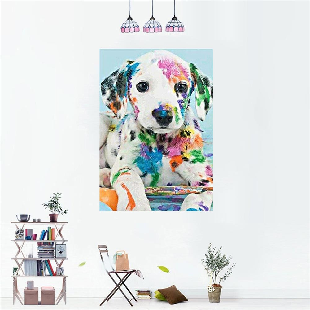 art-kit DIY Diamond Painting Animal Dog Wall Painting Hanging Pictures Handmade Wall Decorations Gifts Drawing for Kids Adult HOB1744046 2 1