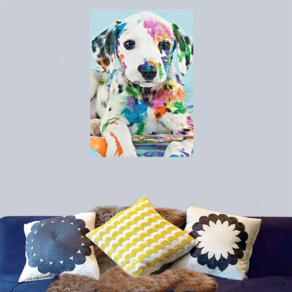 art-kit DIY Diamond Painting Animal Dog Wall Painting Hanging Pictures Handmade Wall Decorations Gifts Drawing for Kids Adult HOB1744046 3 1