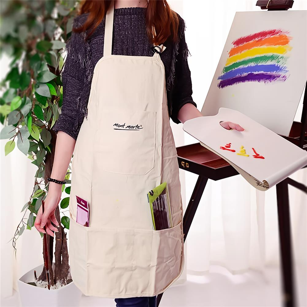 other-learning-office-supplies Cotton Linen Material Painting Apron Oil Painting Apron Adult Painting Waterproof and Antifouling Overalls Drawing Supplies HOB1744130 1