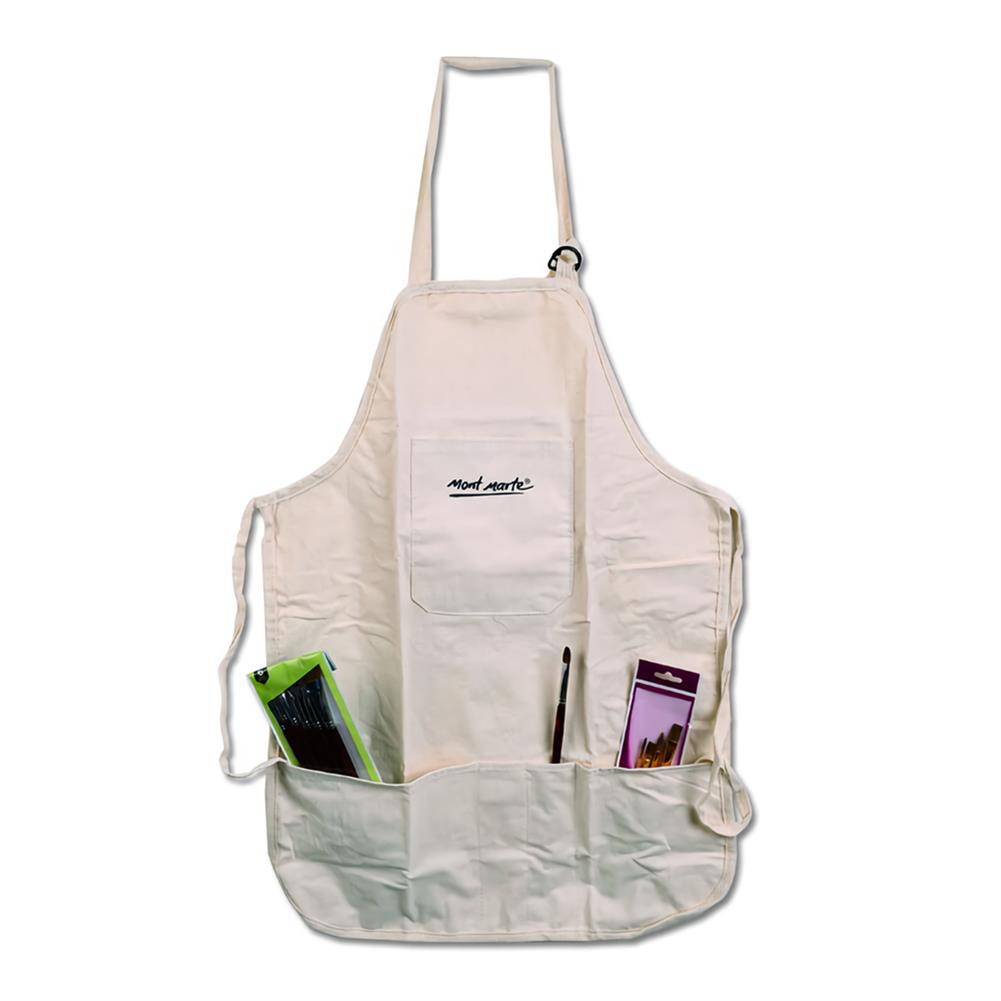 other-learning-office-supplies Cotton Linen Material Painting Apron Oil Painting Apron Adult Painting Waterproof and Antifouling Overalls Drawing Supplies HOB1744130 3 1