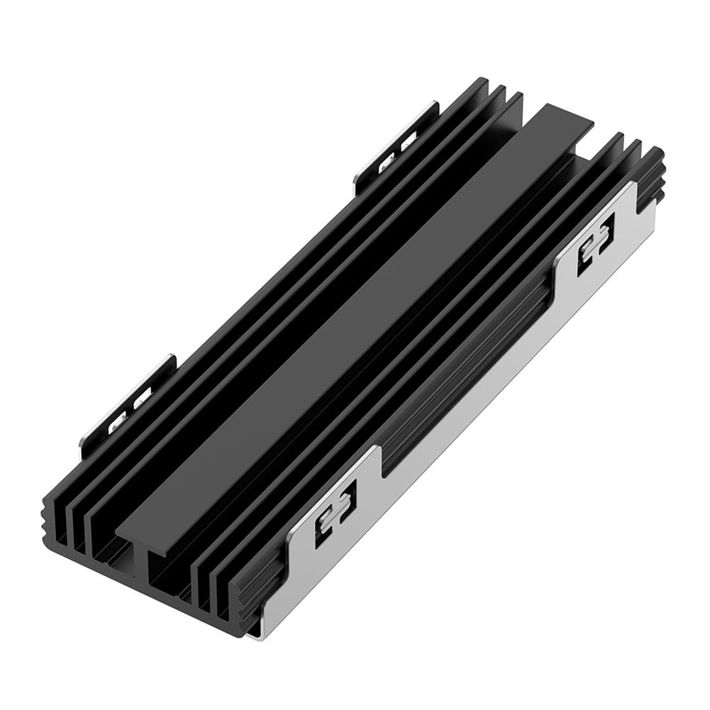 hdd-ssd-enclosures Rocketek M.2 Solid State Disk Heatsink Cooling Silicone therma Pads Cooler for M.2 NVMe SATA NGFF 2280 PCIE SSD HOB1744543 1