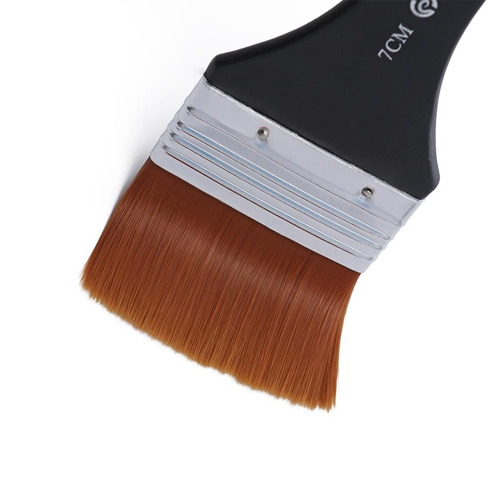 brush 1pc Nylon Hair Oil Painting Brush Watercolor Big Artist Drawing Paint Brush Pen Art Accessory Wooden Handle Painting Tool HOB1744637 2 1