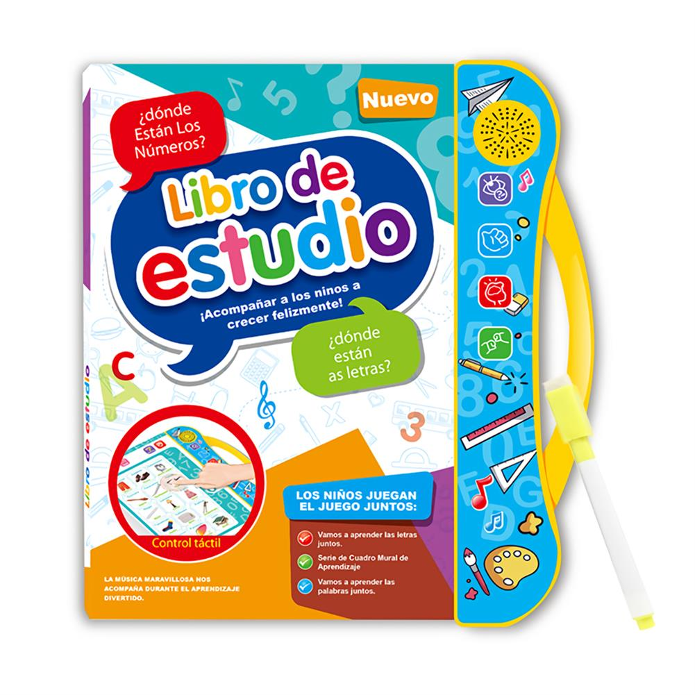 other-learning-office-supplies E-Book Children Early Reading Machine Spanish English Voice Book Cute Learning Machine Kids Early Education E-Book Toy HOB1744639 1