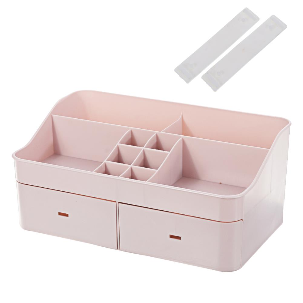 desktop-off-surface-shelves Large Capacity Cosmetic Storage Box Makeup Drawer Organizer Jewelry Makeup Container Mobile Phone Sundries Storage HOB1744906 2 1