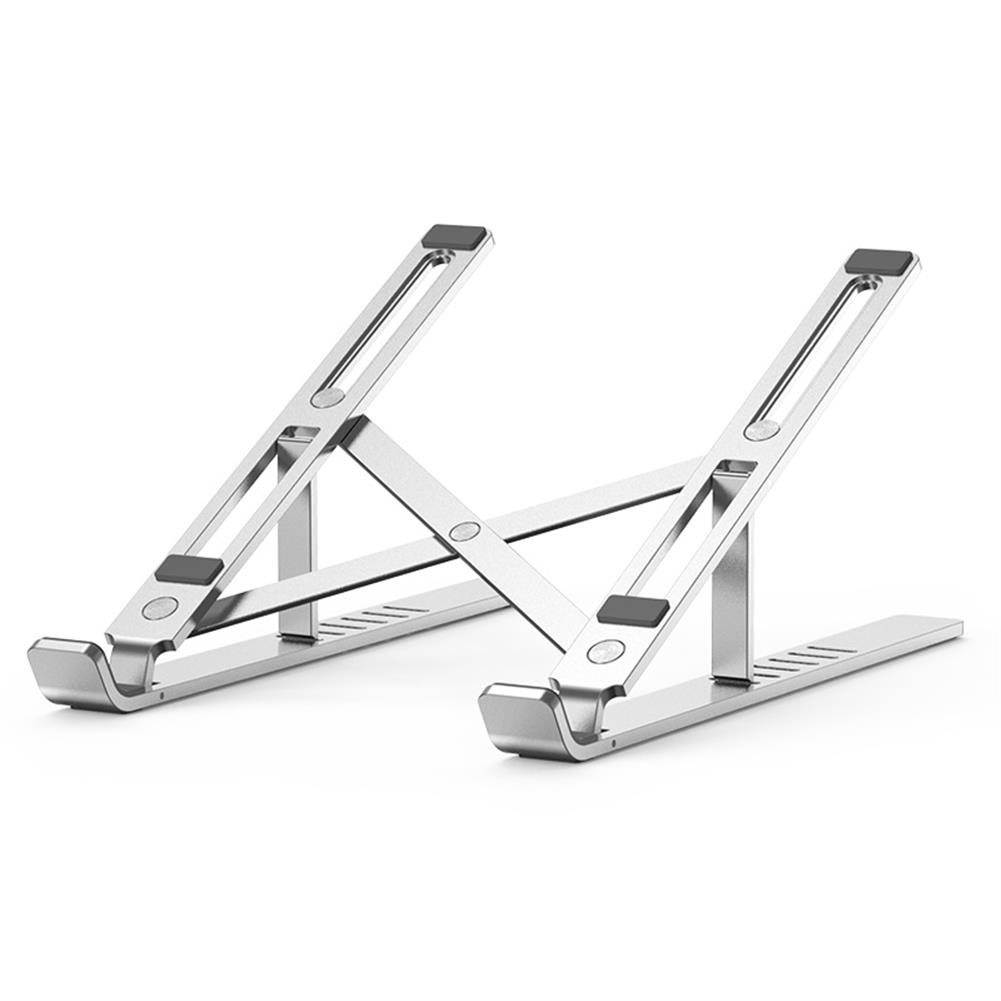 laptop-stands Laptop Stand Aluminum Alloy Adjustable Portable Foldable Laptop Riser for MacBook Air Pro/Dell/HP Fits 10-15.6 inch Laptops HOB1745951 1