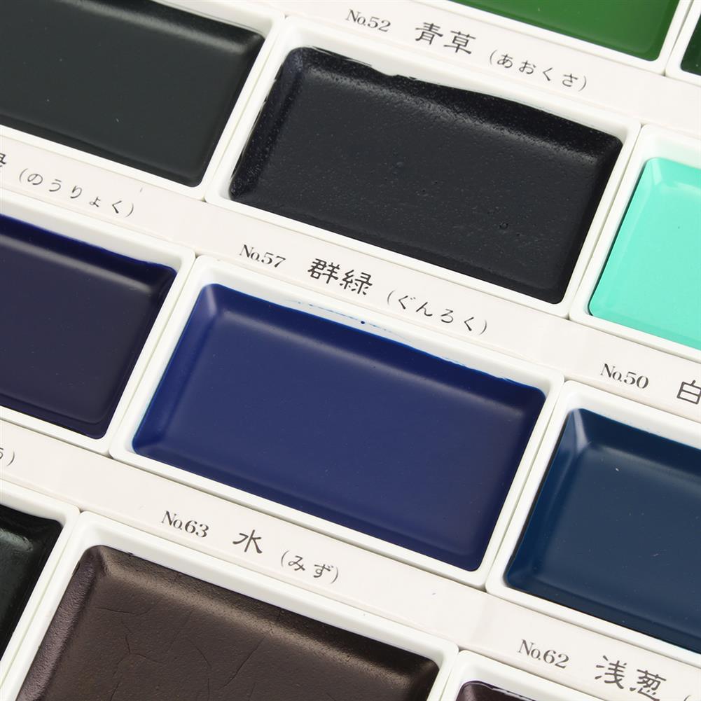 watercolor-paints 36 Colors Watercolor Paint Set Box Drawing Solid Watercolor Set Pigment Art Stationery Painting Supplies HOB1746353 3 1