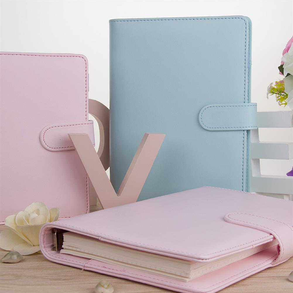 paper-notebooks Portable Notebook Loose-leaf Detachable Thickening A5 A6 Business Notebook Stationery office Workbook Supplies HOB1746959 1