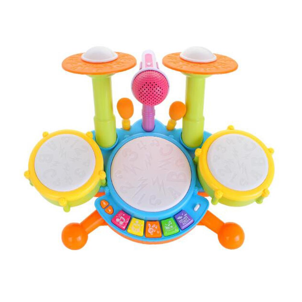 other-learning-office-supplies Musical Toy Set Roll Drum Musical instruments Band Kits Kids Early Educational Toy Gift Baby Music Education Puzzle Toy HOB1747035 1