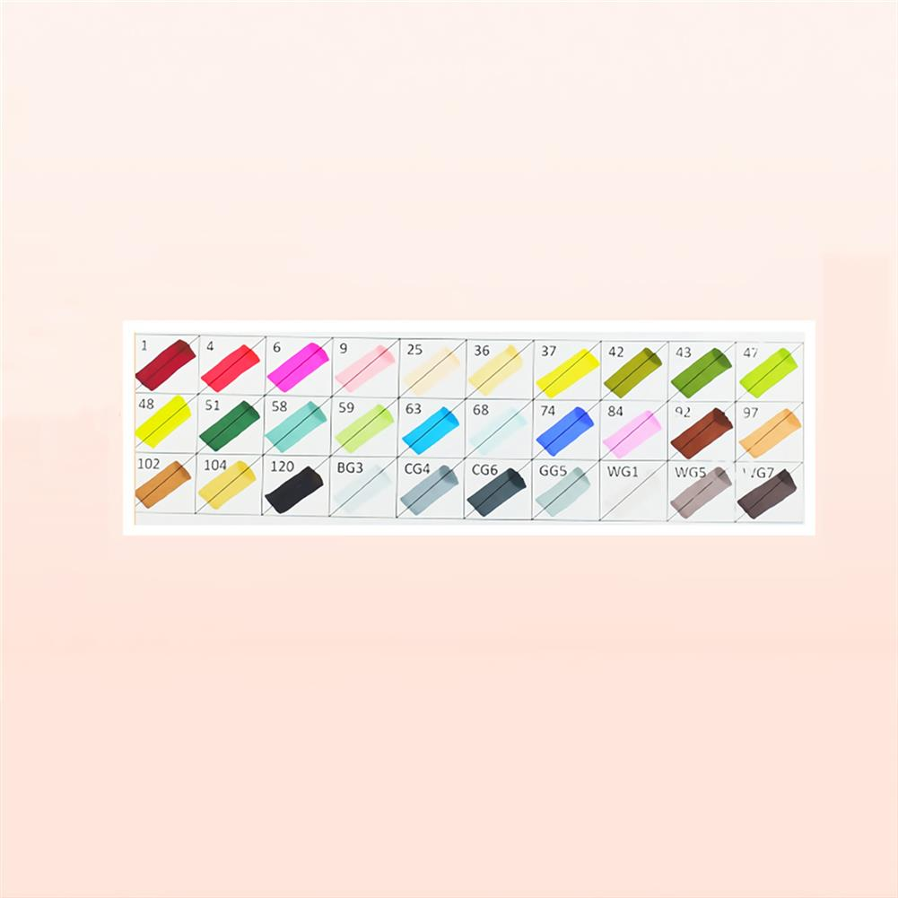 marker 30/40/60/80 Colors Touch Double Head Marker Set Oil Painting Marker Pen Stationery Drawing School Students Supplies HOB1747814 1 1