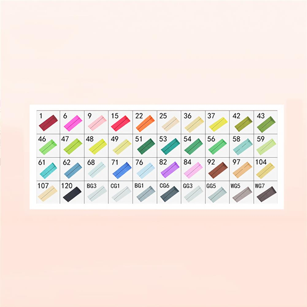 marker 30/40/60/80 Colors Touch Double Head Marker Set Oil Painting Marker Pen Stationery Drawing School Students Supplies HOB1747814 2 1