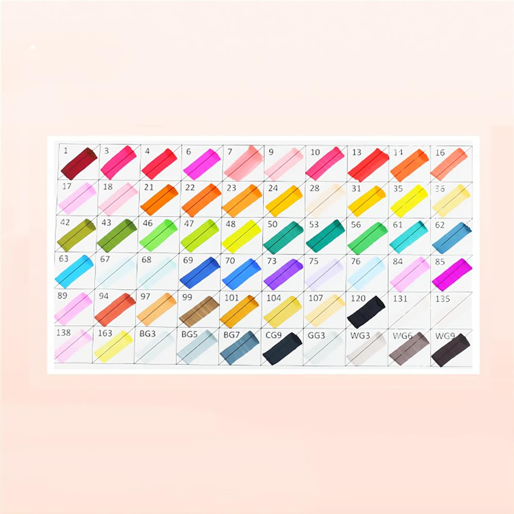 marker 30/40/60/80 Colors Touch Double Head Marker Set Oil Painting Marker Pen Stationery Drawing School Students Supplies HOB1747814 3 1