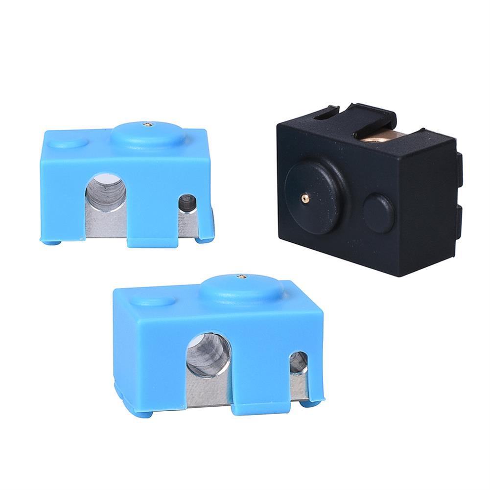 3d-printer-accessories BIGTREETECH V6 Plated Copper Heater Block V6 Brass PT100 Heat Block Fo V6 J-head Hotend BMG Titan Extruder 3D Printer Part HOB1748289 2 1